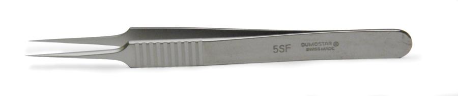 11cm Straight Dumont #5 Tweezers Titanium