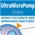 Versatile Microinjection Syringe Pump (UMP3T) for Injections in the Nanoliter to Milliliter Range