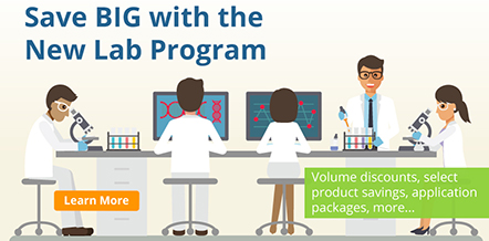 Save BIG with the New Lab Program